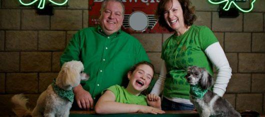 Família irlandesa