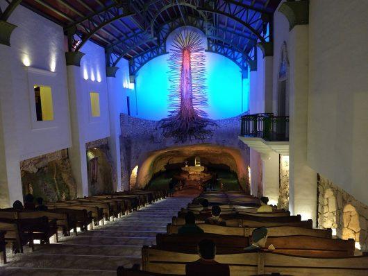 Capela de Guadalupe no Xcaret