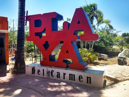 Playa del Carmen no México