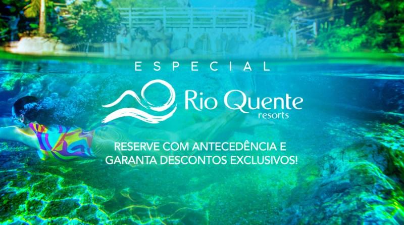 Promoção Especial Rio Quente Resorts 2018