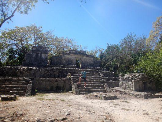 Ruínas Maias no Xcaret