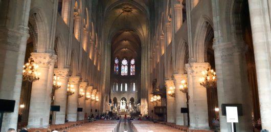 Interior Catedral Notre-Dame