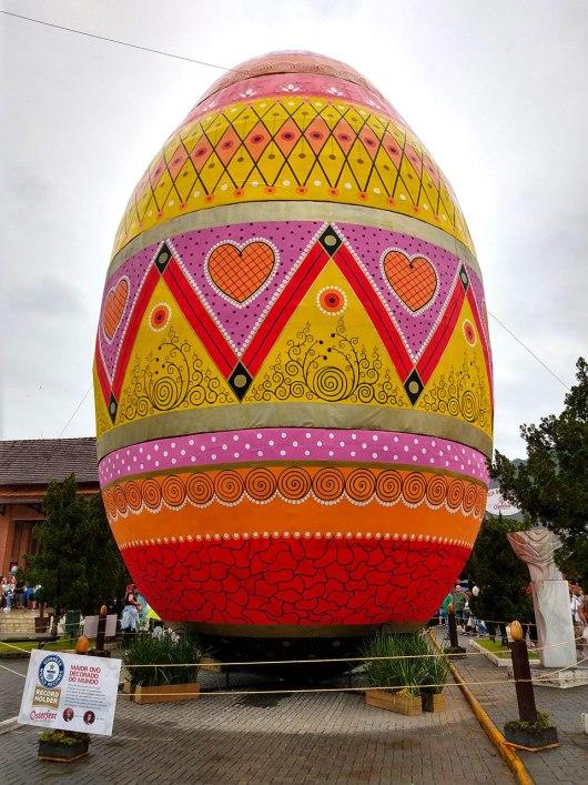 Maior ovo de páscoa decorado do mundo - Osterfest 2019