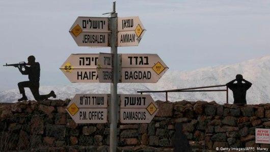 Dirigir em regiões de conflito