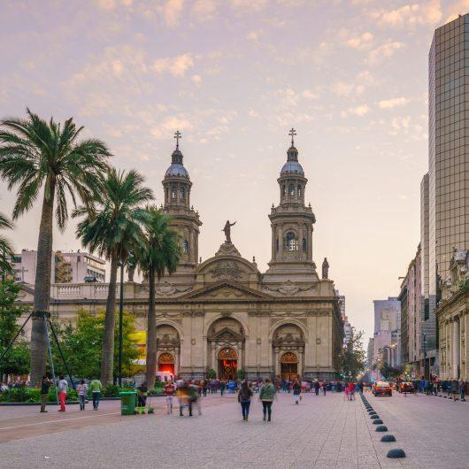 Férias de julho no Chile 2020 - Santiago