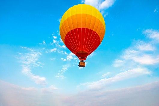 Passeio de balão em Orlando