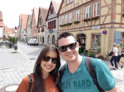 Viagem a Rothenburg ob der Tauber