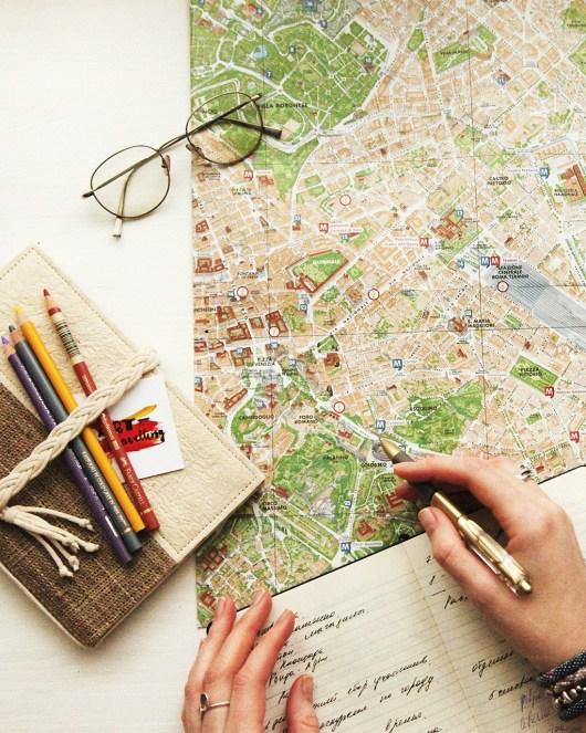 Uma viagem de volta ao mundo requer planejamento