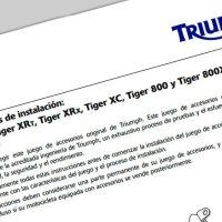 Tutoriales, bricos y manuales de taller no sólo para la Tiger 800