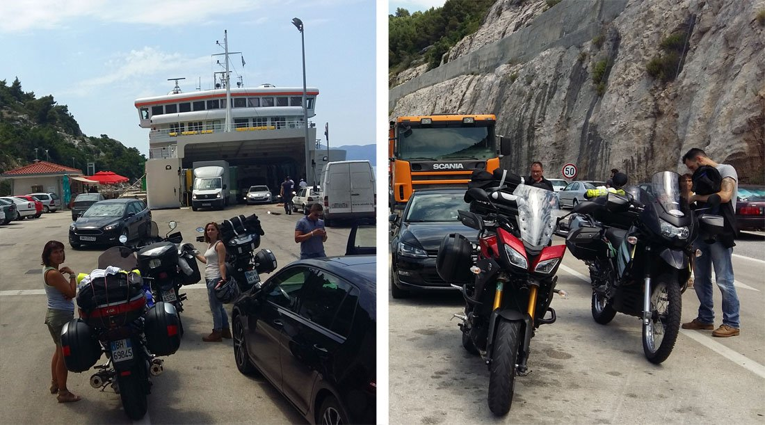 Ferry Prapratno-Mjet, en Croacia