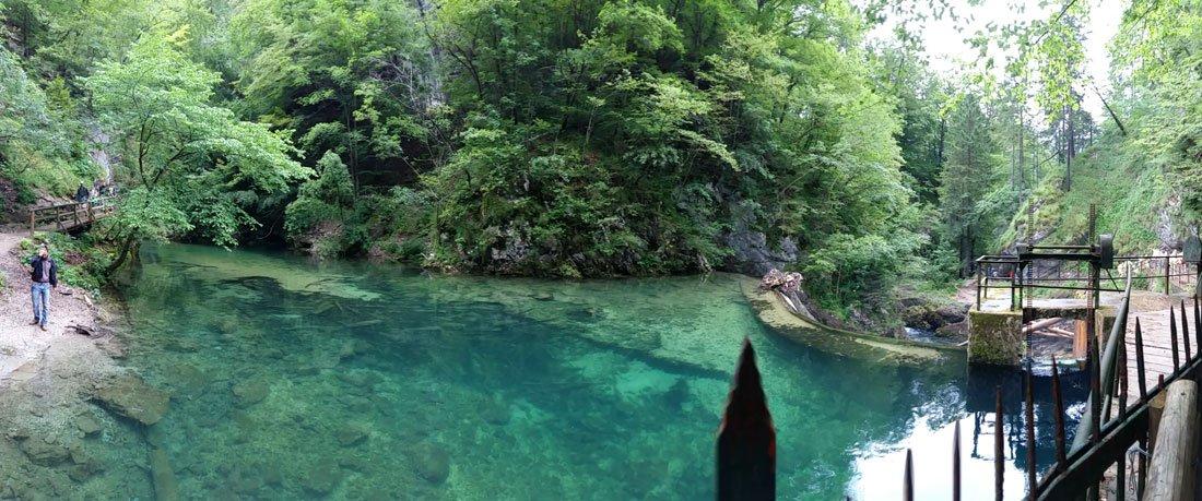 Vintgar Gorge (Gargantas de Vintgar), Bled, Eslovenia