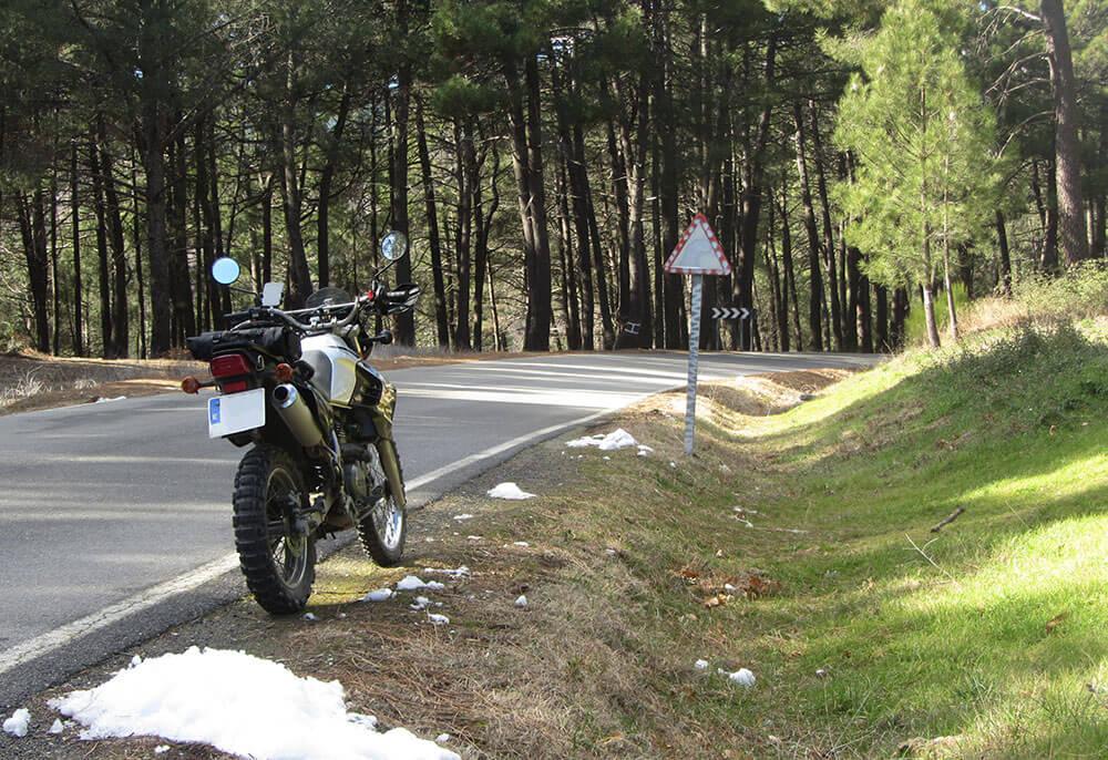 klr trail en Ávila