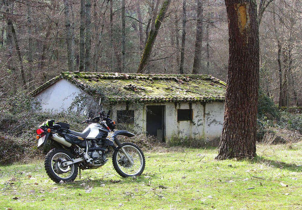kawasaki klr 650, trail en Ávila