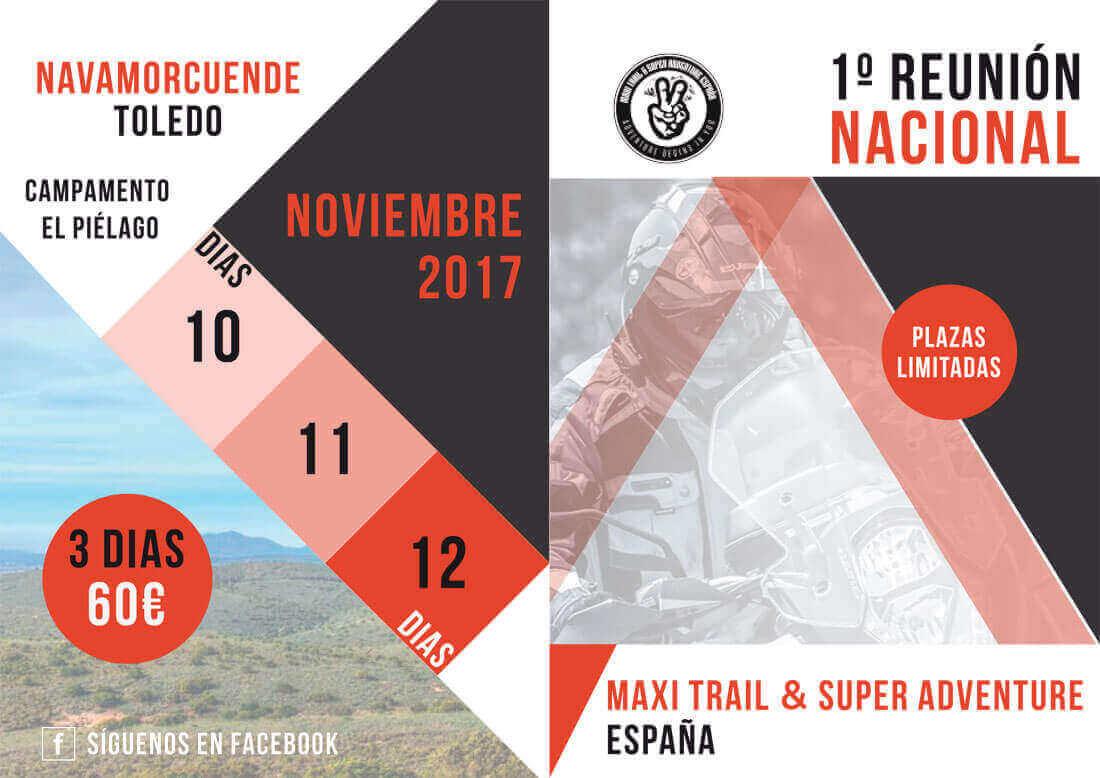 1ª REUNIÓN MAXI TRAIL & SUPER ADVENTURE ESPAÑA