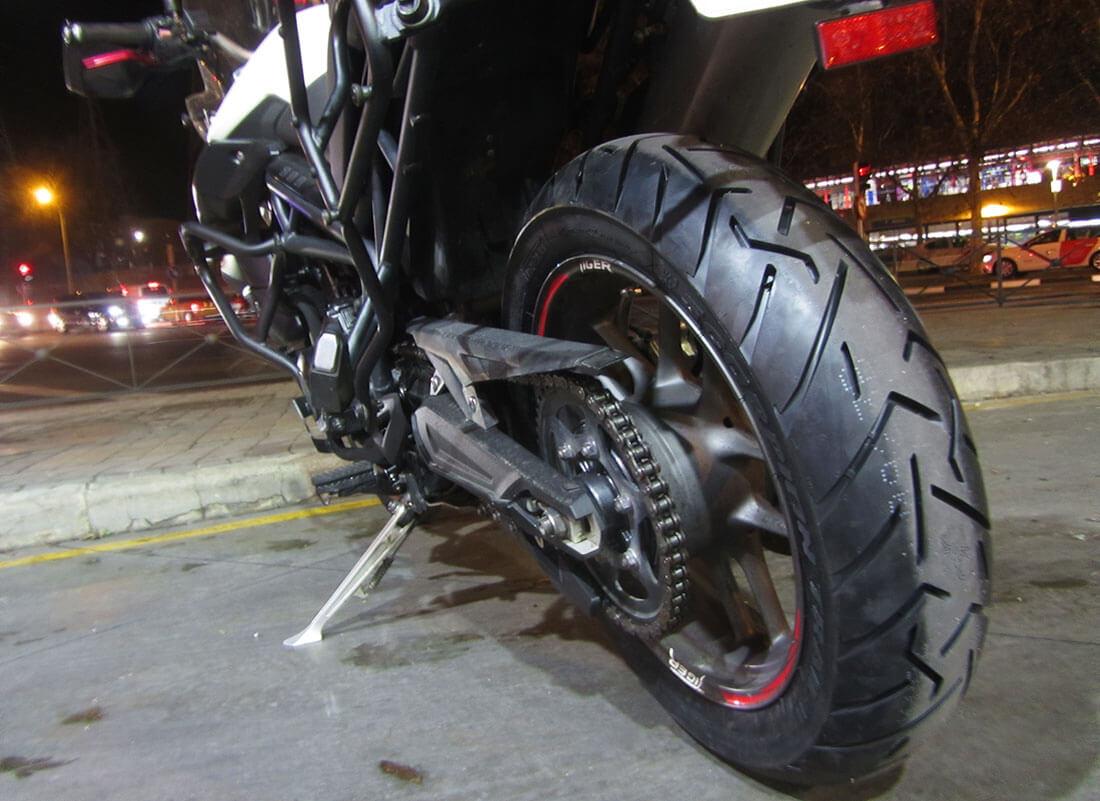 Tiger 800 con Pirelli Scorpion Trail II nuevos