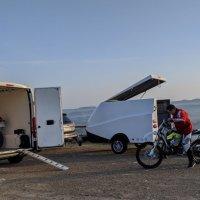Trasportar la moto en furgoneta de alquiler