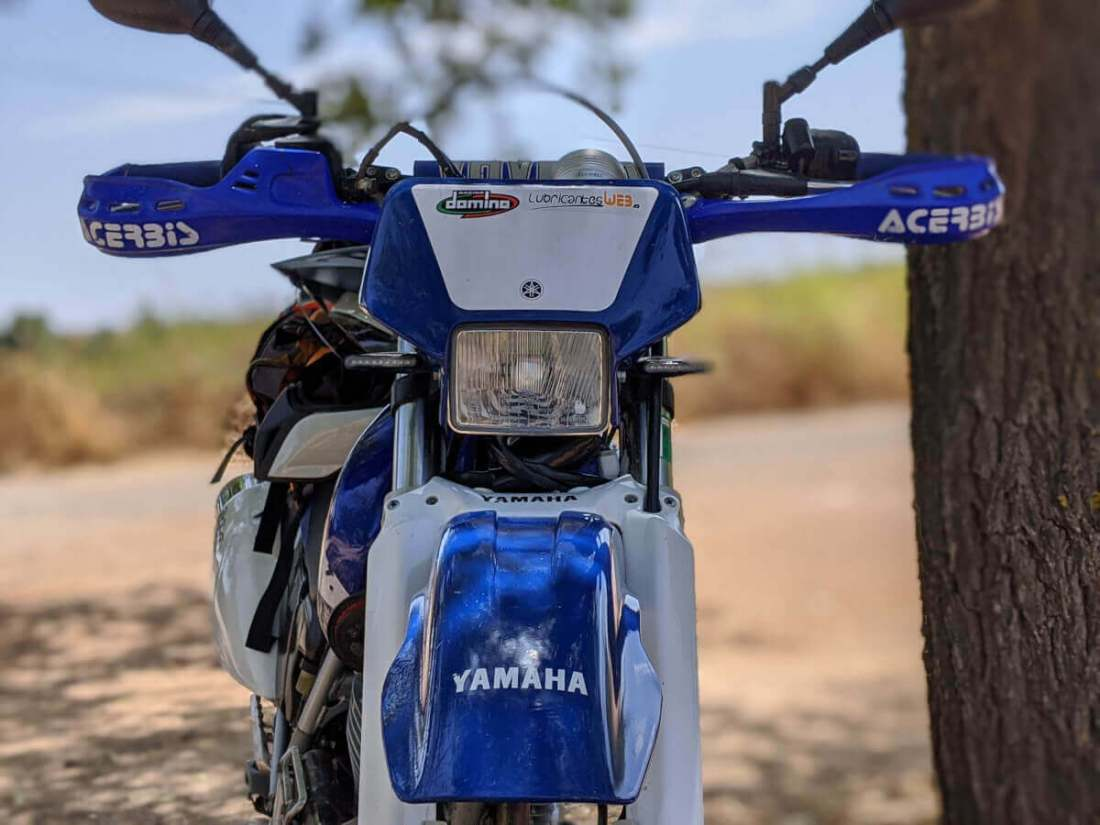Yamaha TTR frontal