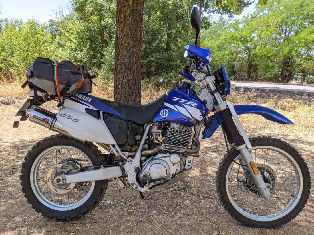 Yamaha TTR lateral derecho