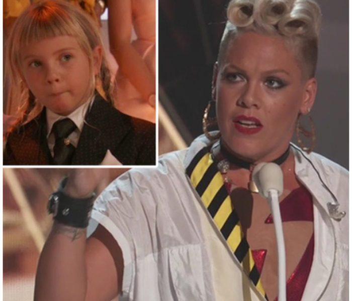 El hermoso y poderoso discurso de Pink en los VMA sobre su hija que asombró a todos