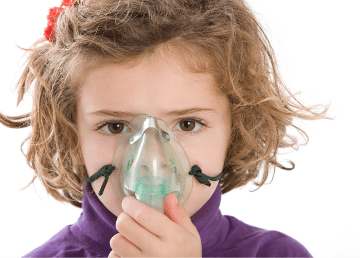 Dificultades respiratorias en niños