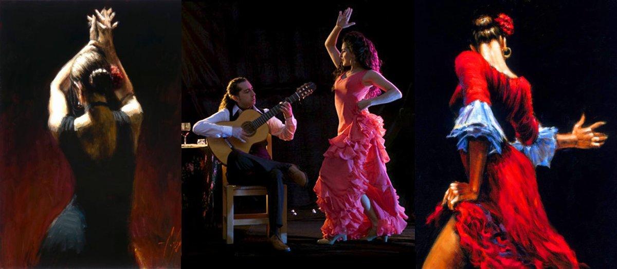 страсть в фламенко