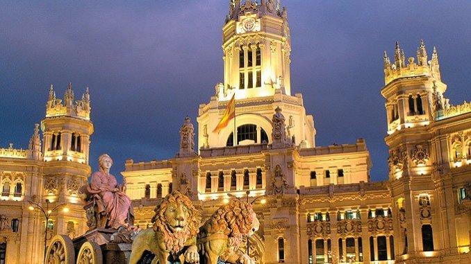 Столица испании - Мадрид