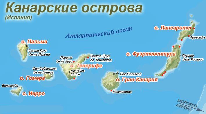 Архипелаг Канарских островов