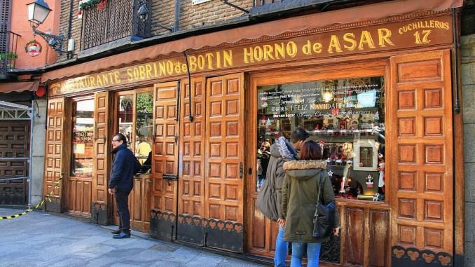 Собрино де Ботин в Мадриде