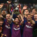 Барселона выигрывает Суперкубок Испании