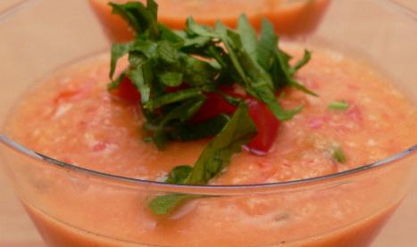 Гаспачо - испанский летний суп