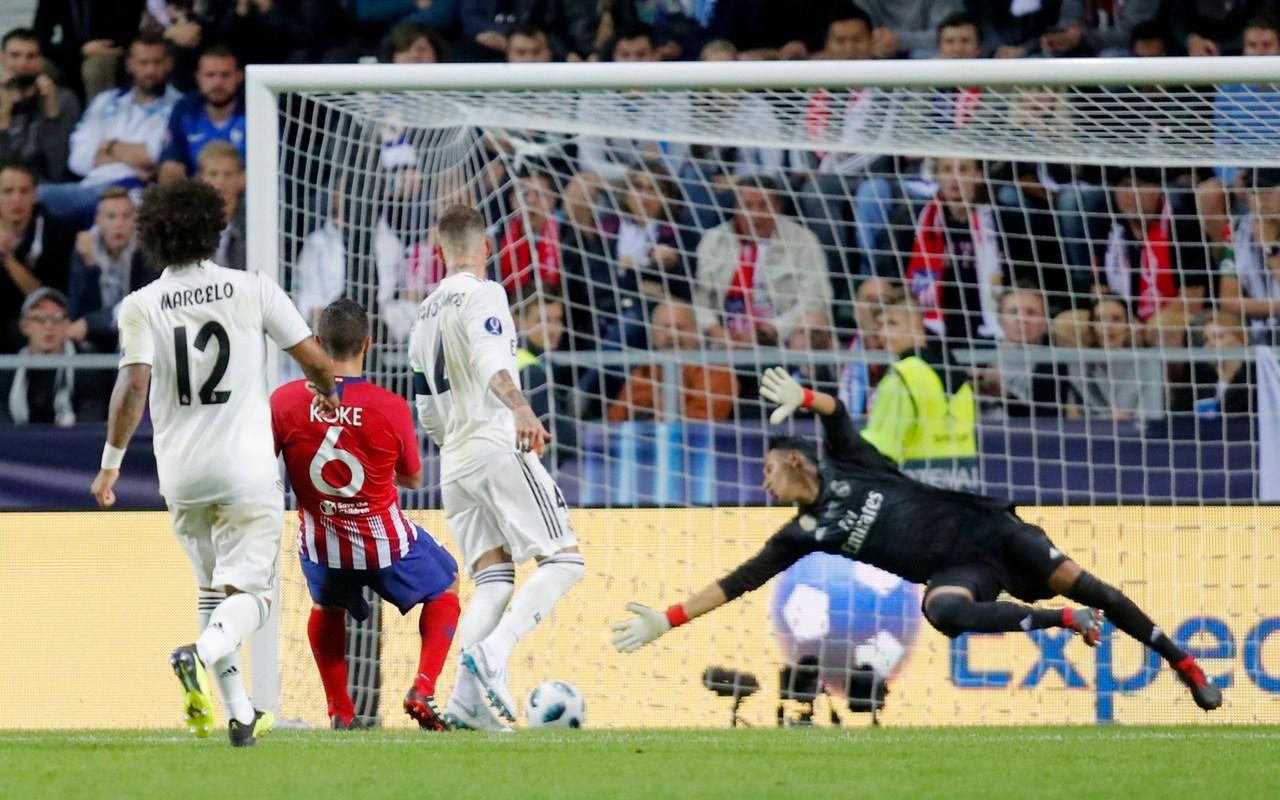 Коке забивает 4 гол Реал Мадриду