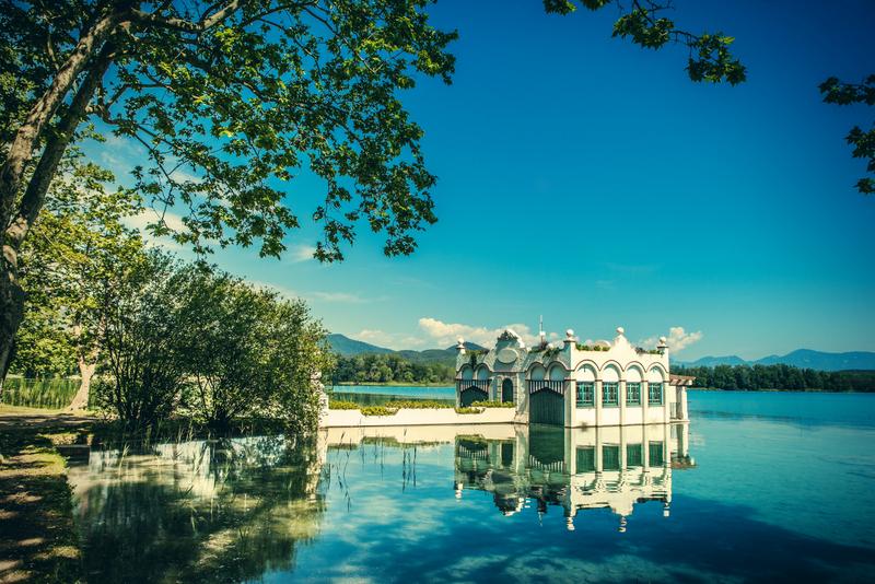 озеро баньолес испания