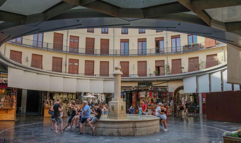 plaza-redonda круглая площадь Валенсия