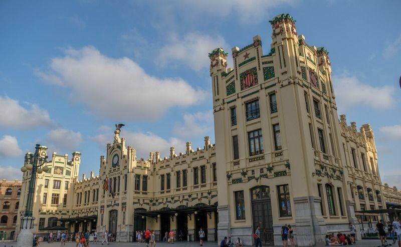 Северный вокзал в Валенсии