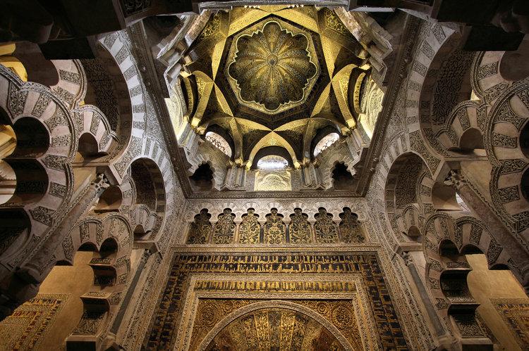 Мечеть Кордобы внутри