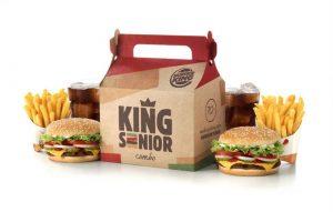 Burger King lança o King Senior, só para maiores de 70 anos