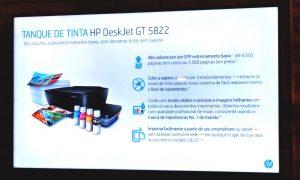 HP investe no mercado de impressora com tanque de tintas