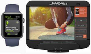 Parceria entre Life Fitness e Apple irá sincronizar equipamentos cardio com Apple Watch