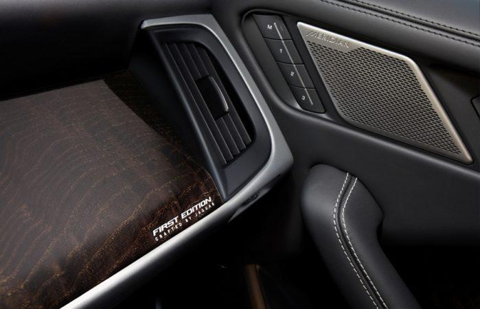 Jaguar I-PACE Detalhe Interior Maçaneta