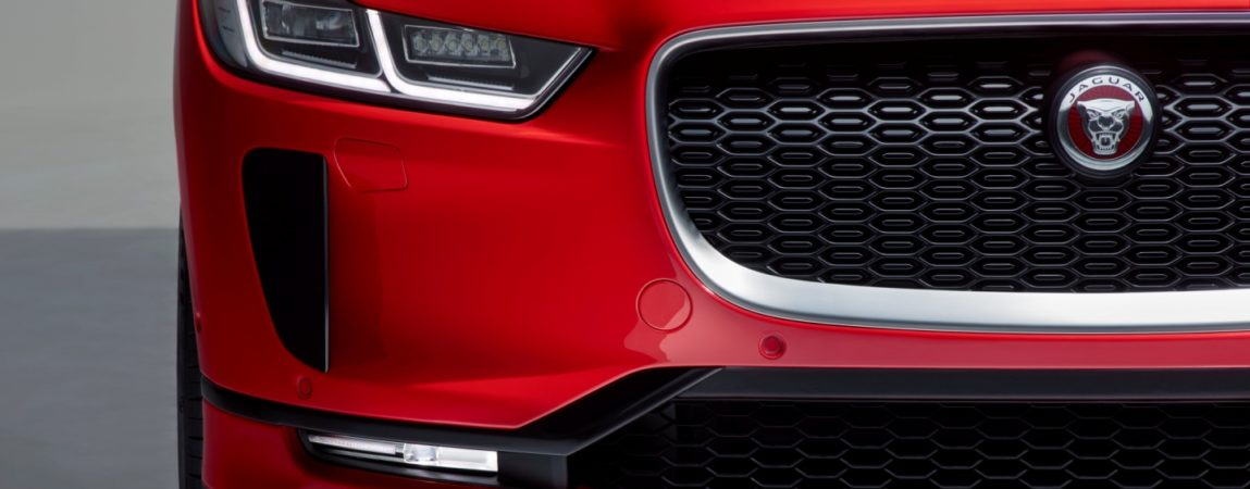 Jaguar I-PACE Frente