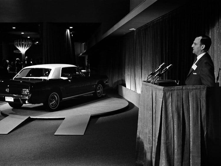 1-FordMustang_LançamentoFeiraMundialNY_1964 (Foto: Divulgação)