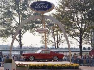 2-FordMustang1964_FeiraMundialNY (Foto: Divulgação)