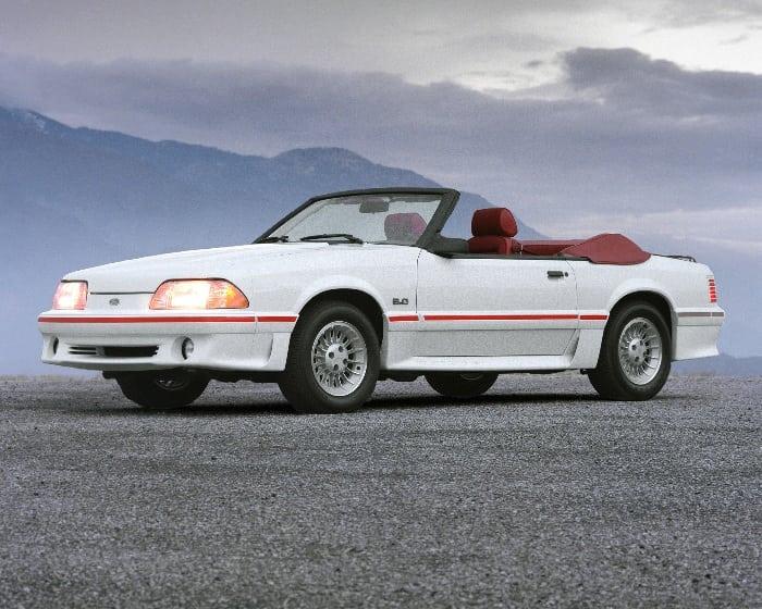 5-Ford Mustang GT conversível_1987 (Foto: Divulgação)