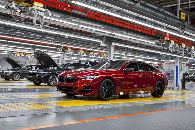 BMW Série 8 Gran Coupé 09