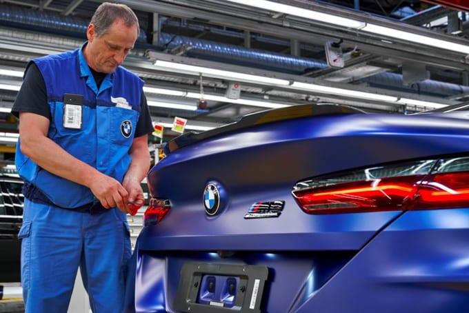 BMW Série 8 M8 Competition Coupé 45