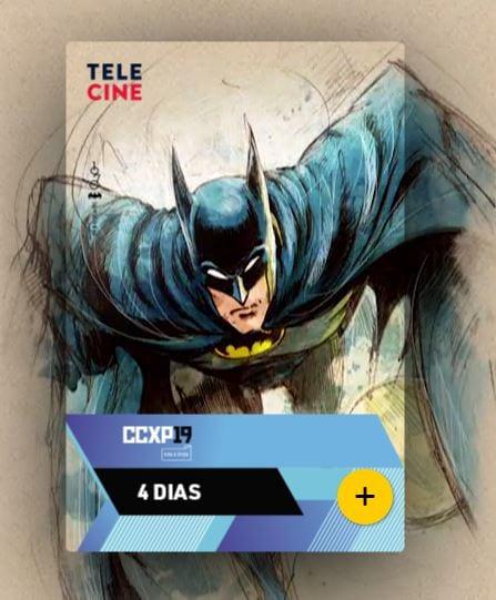 Conheça as credenciais oficiais da CCXP19 em homenagem ao aniversário do Batman