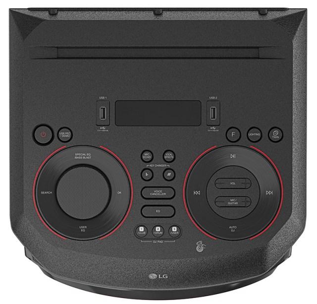 LG anuncia nova linha de caixas acústicas