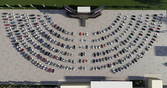 Maior drive-in do Brasil será inaugurado nessa semana