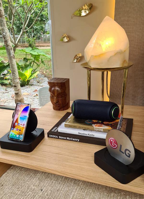 LG alia inovação, tecnologia e bem-estar na exposição Janelas CASACOR 2020