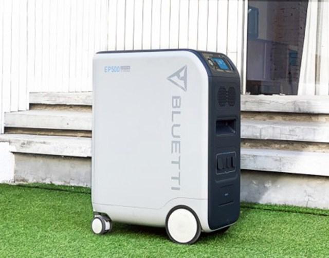 Conheça a Bluetti EP500, uma estação de energia portátil e cheia de estilo